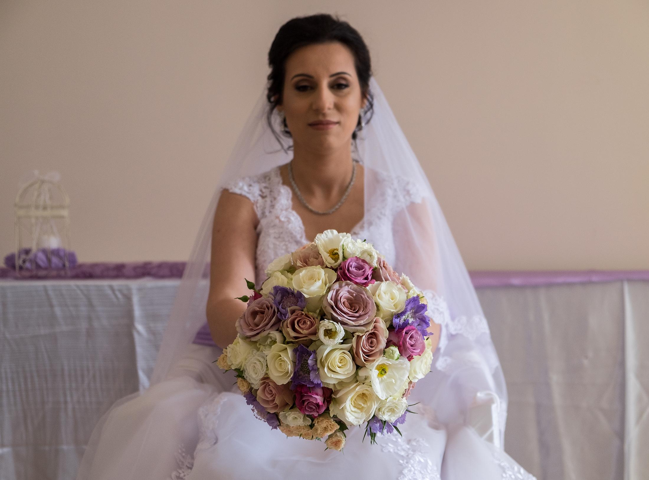 Eli's wedding bouquet
